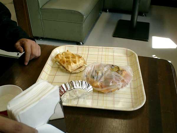 誰かさんの朝食