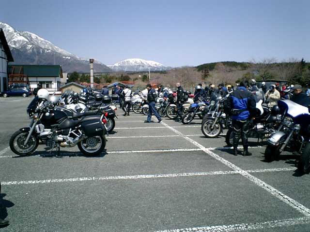 集合バイクの一部