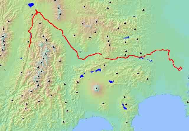 久々の500km(2003/9/7(日))