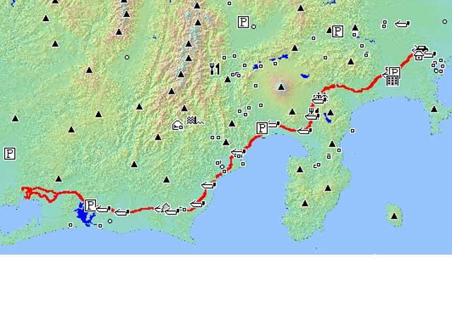 初走り 600km(2/1(日))