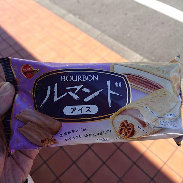 静岡でルマンドアイス食べて一休み。#ツーリング