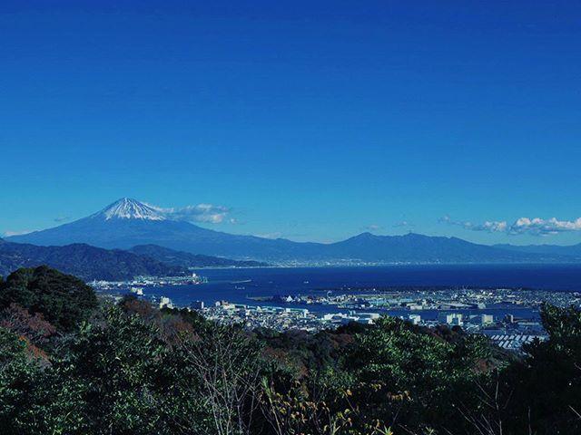 初日本平。視程良し。#touring