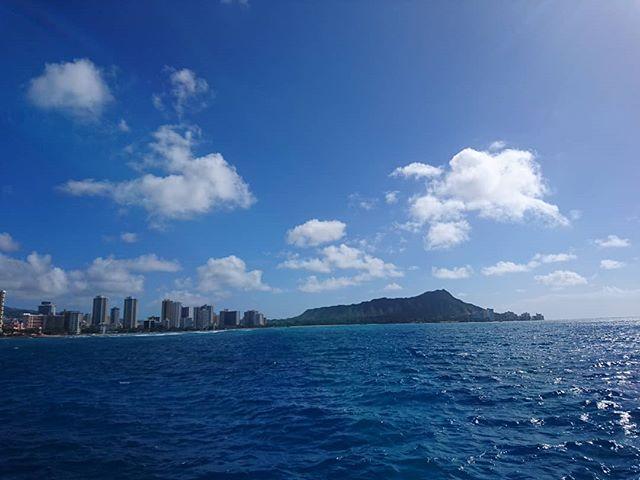 ダイヤモンドヘッド綺麗#hawaii