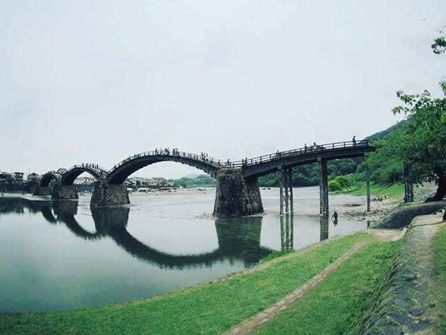 令和元年初ツーリングは錦帯橋から#touring#バイクツーリング