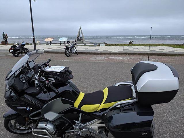 到達したが風強い。#touring #touringbike